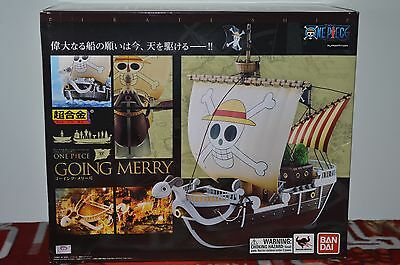Authentic One Piece Going Merry Ship Boat Chogokin Bandai Figure US Seller