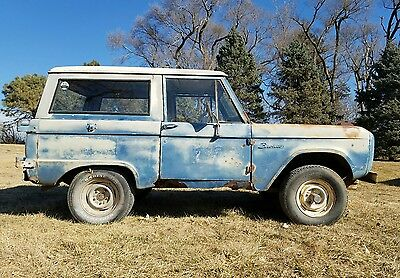 1969 Ford Bronco  1969 Ford Bronco 302 3 speed NO RESERVE!!!