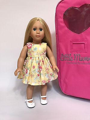 """EASTER PACK2 18"""" Modern Doll American Girl quality for Our Generation Girl price"""