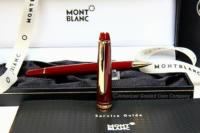 MONTBLANC 163R Burgundy ROLLERBALL  100% NEW in Original Boxes!! RARE!!