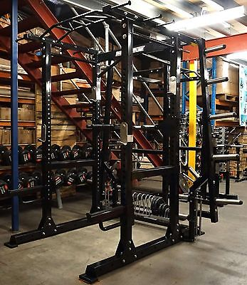 DISCOUNTED BARBARIAN PRO Functional Commercial Power Cage Rack Squat Ex Demo