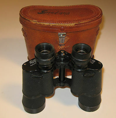 Vintage Kalimar Binoculars 7X35 with case, Late 50's-Early 60's