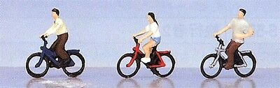 """Kato 24-215 Model People """"Young People on a bicycle"""" (N scale)"""