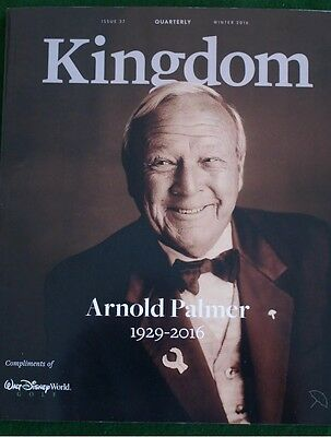 Arnold Palmer Kingdom Magazine '16 Memorial Issue Arnie's Life Highlights