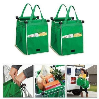 Grab Bag 1 Pack Clip-To-Cart Reusable Grocery Shopping Bags - LD