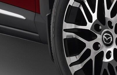 New Genuine Mazda CX-3 DK Front and Rear Mud Flap Kit Mud Flaps 2015 - Current