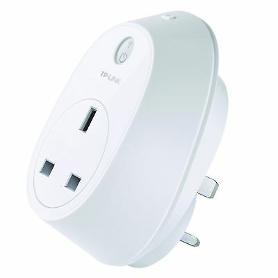 TP-Link HS100 Wi-Fi Smart Plug in White - Works with Android iOS and Amazon Echo
