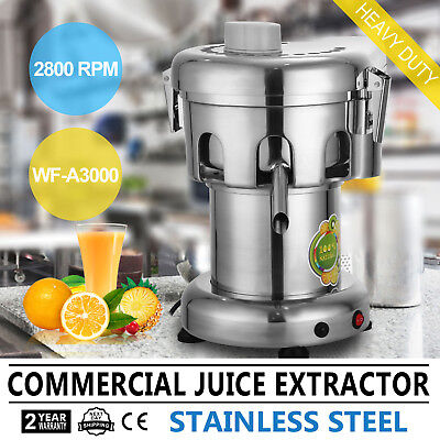 2800RPM Commercial Multifuction Fruit Power Juicer Juice Extractor