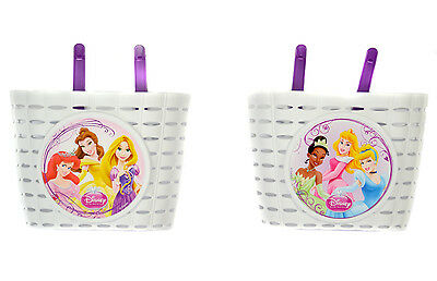 Widek Disney Princess Childrens Bike Basket - White RRP £11.99