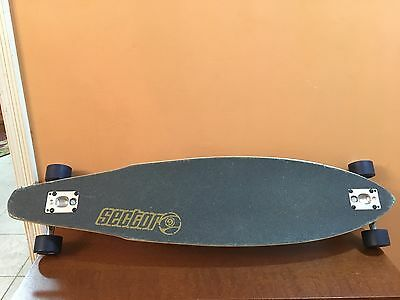 Sector 9 Downhill longboard, Green and Ska Complete