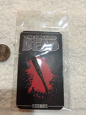 AMC Walking Dead Negan's Lucille Bat Lapel Pin Free Shipping in USA