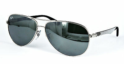 Ray Ban Sonnenbrille / Sunglasses  RB8313 003/40 Gr. 61 Insolvenzware # C4