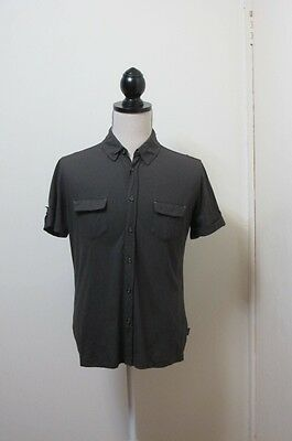 Hugo Boss Mens Polo Shirt Short Sleeve Top ~ Size Large ~ As New Slim Fit Style