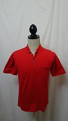 Dunhill Polo Shirt Top Mens ~ Medium - Large ~ Short Sleeve Exc Cond 100% Cotton