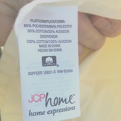 Brand New Queen Bed Valance  - JCPenney USA