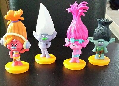 Trolls cake toppers