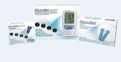 GlucoZen Blood Glucose Meter Kit + REPLACEMENTS *NHS LISTED PRODUCT*