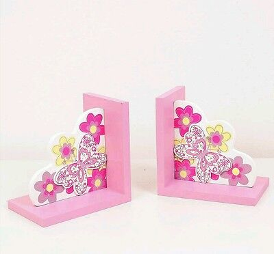 Butterfly bookends Christmas birthday gift children's bedroom home furnishings