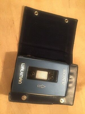 Vintage Sony Walkman TPS-L2 And Case. Classic