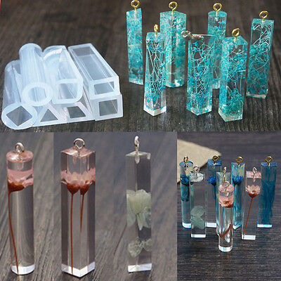 Hot Sale DIY Pendant Resin Making Tools Accessory Pendant Jewelry Silicone Molds