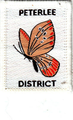 Boy Scout Badge PETERLEE District