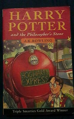 harry potter and the philosophers stone paperback book