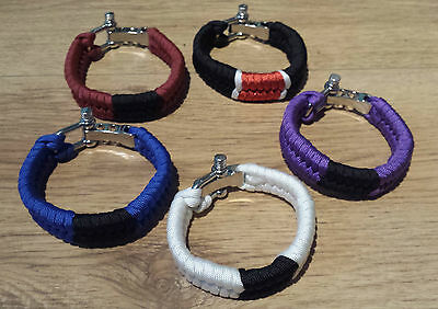 BJJ Belt Wrist Band Brazillian Jiu Jitsu Bracelet Martial Arts MMA UK Tatami