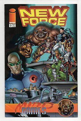 NEW FORCE # 3, Image 1996, Zustand 0-1/1- (vf+/vf-)
