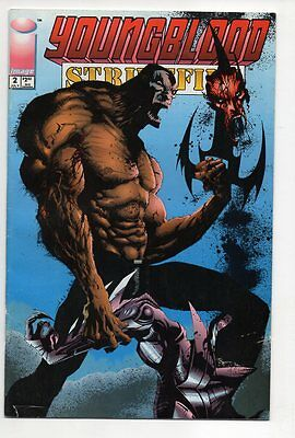 YOUNGBLOOD: Strikefile # 2, Image 1993, Zustand 0-1/1- (vf+/vf-)