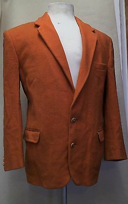 Gents Vintage Orange Wool Blazer