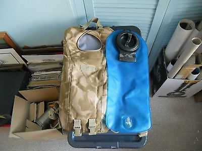 British Army Camelbak with bladder