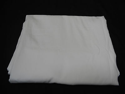 Luxury Hotel White Cotton Bed Sheets Available In All Sizes