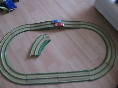 Tin Plate Car Track And 2 Cars