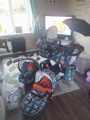 Cosatto Giggle Baby Pram set and car seat