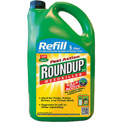 Weed Killer Fast Action Pump 'N Go Ready To Use Refill Roundup, 5 L