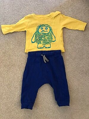 Lovely 3-6 months boys M&S outfit