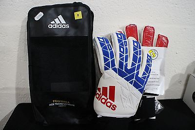 adidas ACE TRANS FINGERSAVE ULTIMATE Goalkeeper Gloves Size 9 REF 37