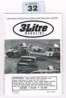 Banger Racing Magazine 3 Litre Issue 115