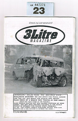 Banger Racing Magazine 3 Litre Issue 130