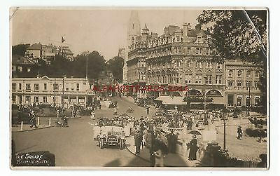 Dorset Bournemouth The Square Real Photo Vintage Postcard 17.12