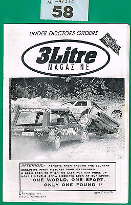 Banger Racing Magazine 3 Litre Issue 113