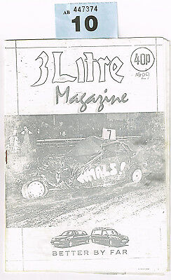 Banger Racing Magazine 3 Litre Issue 29