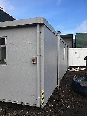 32 Foot Used Portable Timber Open Plan Office Cabin
