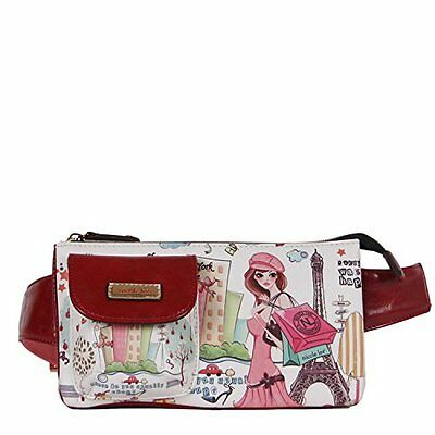 Nicole Lee Fanny Pack, Shopping Girl, One Size