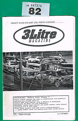 Banger Racing Magazine 3 Litre Issue 127