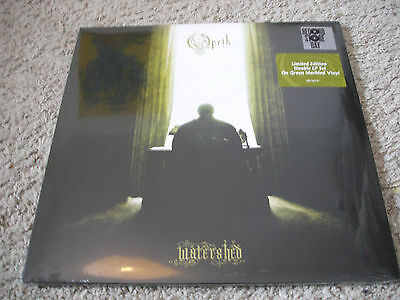 OPETH, Watershed,Doppel LP, Recordstore Edition, 2014, Limited, Green