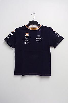 ASTON MARTIN GULF RACING T SHIRT CHILD XXL NEW with TAGS