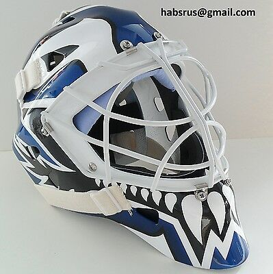 Felix Potvin Maple Leafs Goalie Mask Hockey Helmet Nhl Replica Full Size Adult