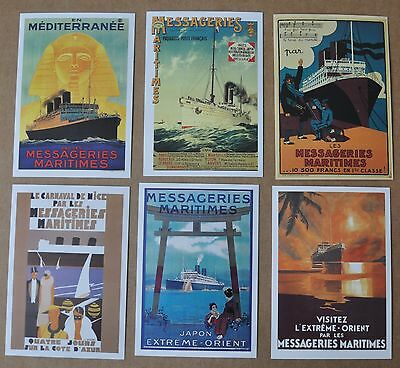 France: Messageries Maritimes Marseille Far East Poster Reproductions