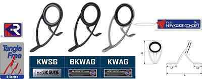 Ring Alconite Series Kw Bkwag Fuji Size Various Fishing Rod Mounting Guides Rod